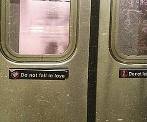 love, grunge, and door image