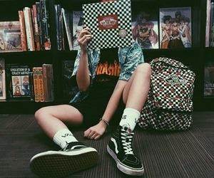 vans, grunge, and alternative image