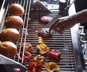 barbecue, bbq, and burgers image