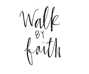 faith, love, and quote image