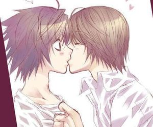 amor, anime, and death note image
