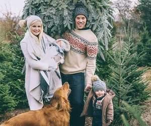 family, christmas, and dog image