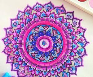 mandala, colors, and art image