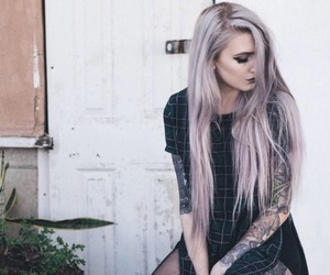 girl, alternative, and grunge image