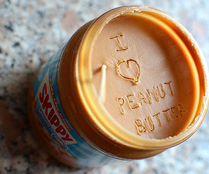 peanut butter, food, and yum image