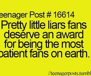 pretty little liars, pll, and fans image
