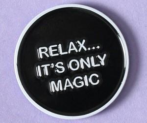 magic, pins, and purple image