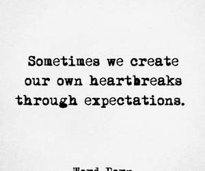 quote, heartbreak, and life image