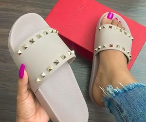 shoes, slippers, and Valentino image