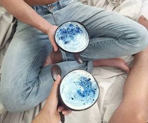 blue, bowl, and breakfast image