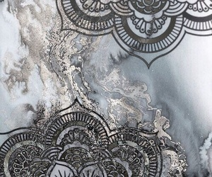 background, silver, and glitter image