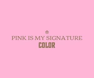 girly, pink, and quotes image
