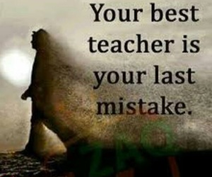 quotes, mistakes, and teacher image