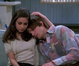 Mila Kunis, that 70s show, and love image