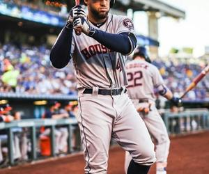 baseball, astros, and george springer image
