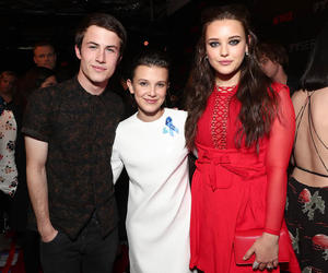13 reasons why and stranger things image