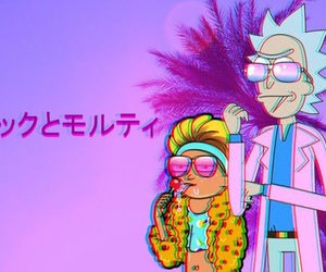 rick and morty and aesthetic image