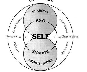ego, shadow, and jung image
