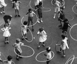 hoop, kids, and play image