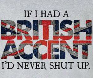 accent, blonde, and british image