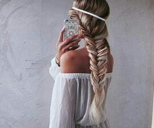 beautiful, hair, and iphone image