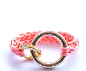 flaming, knit, and knitted bracelet image