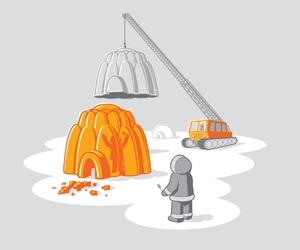 eskimo, igloo, and illustration image
