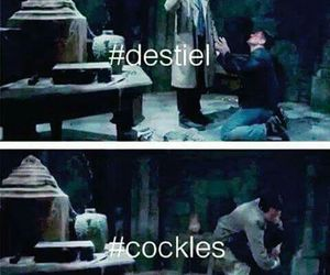 cockles, destiel, and supernatural image