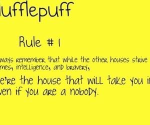 rule and hufflepuff image