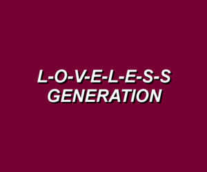 aesthetic, grunge, and loveless image
