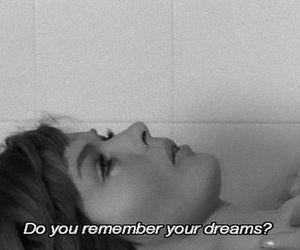 aesthetic, dreams, and Lyrics image
