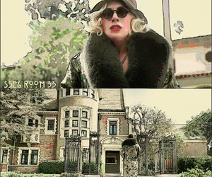 edit, hotel, and american horror story image