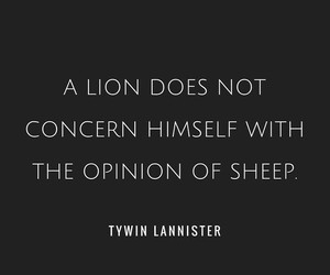 quotes, got, and lannister image