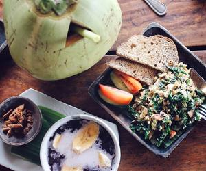 coconut, food, and vegetarian image