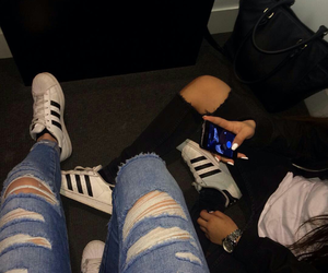 adidas, friendship, and friends image