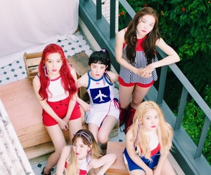 kpop, red velvet, and red flavor image