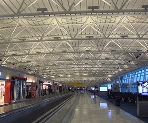airport, travel, and newyorkairport image