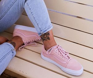 fashion, vans, and pink image
