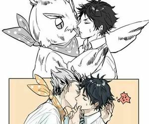 haikyuu!!, bokuaka, and bokuto kotaro image