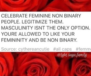 feminism, lgbtq, and nonbinary image