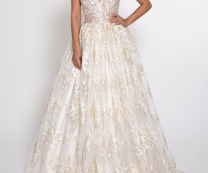 cool, wedding, and dresses image