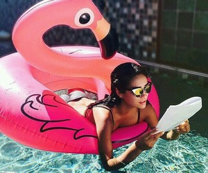 shay mitchell, pretty little liars, and pool image