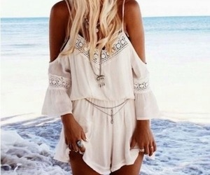 fashion, beach, and summer image