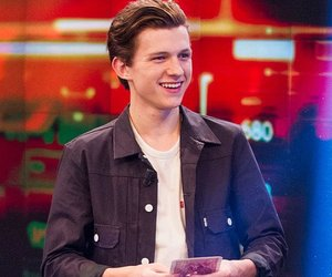 tom holland, spiderman, and crush image