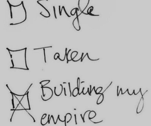 empire, single, and taken image