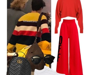 airport, fashion, and outfit image