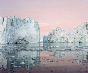 pink, ice, and aesthetic image