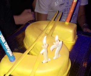 17, birthday, and birthday cake image
