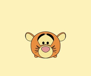 wallpaper, tigger, and tsum tsum image