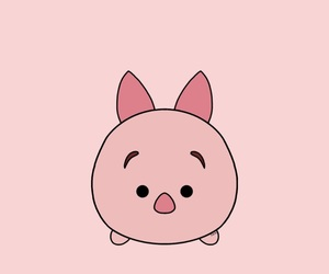piglet, wallpaper, and tsum tsum image